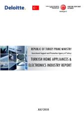 HOME APPLIANCES ELECTRONICS INDUSTRY in Turkey.pdf