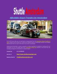 Affordable_Airport_Transfers_for_Amsterdam.PDF
