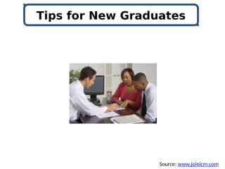 Tips for New Graduates.pptx