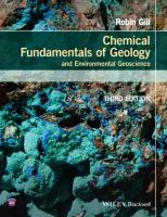 Robin Gill-Chemical Fundamentals of Geology and Environmental Geoscience (Wiley Desktop Editions)-Wiley-Blackwell (2015).pdf