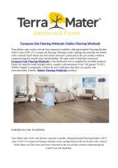 European Oak Flooring Wholesale-Timber Flooring Wholesale.pdf