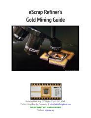 ESCRAP REFINERS GOLD MINING GUIDE.pdf