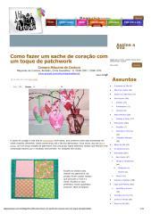 Como fazer um sache de coração com um toque de patchwork _ Vila do Artesão.pdf