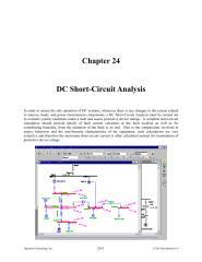 Chapter 24 - DC Short-Circuit Analysis.pdf