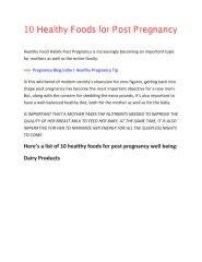 10 Healthy Foods for Post Pregnancy-output.pdf