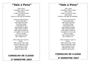 MENSAGEM PARA O 2 CONSELHO DE CLASSE 2007.doc