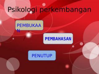 Perkembangan Masa Remaja Mahasiswa 1.ppt