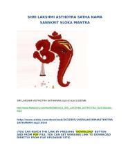 SHRI LAKSHMI ASTHOTRA SATHA NAMA MP3.docx