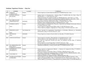Institutos Técnicos Norte y Sur.doc