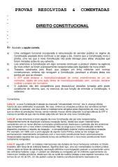 Direito Constitucional - Provas Resolvidas & Comentadas.pdf