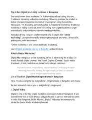 Top 5 Best Digital Marketing Institutes in Bangalore.pdf