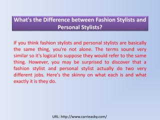 What's the Difference between Fashion Stylists and Personal Stylists.pdf