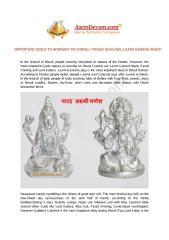Important_Idols_to_Worship_on_Diwali.PDF