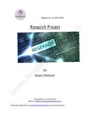 Research on buyer behavior.pdf
