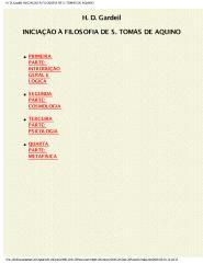 Iniciação Filosófica a Santo Tomas de Aquino - H D Gardeil.pdf