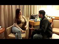 Actress Kainaat Arora with Rj Animesh live on Red fm Kolkata   31st Dec 2013.mp4