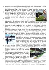 comp Winter life in a dairy farm.doc