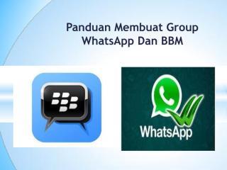 10. Panduan membuat Group BBM dan WhatsApp.pdf