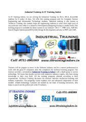 Indutrial Training At IT Training Indore.pdf