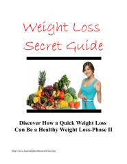 ebook 2 Discover How a Quick Weight Loss can be healthy II.pdf