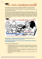 Help With Assignment Always Available to Offer Free Homework Help.pdf