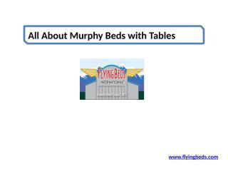 Find the Best Murphy Beds.pptx
