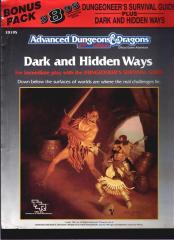 AD&D - Adventure Dark and Hidden Ways.pdf