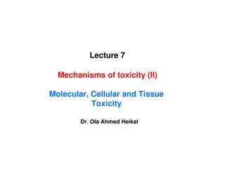 Lecture 7-Mechanism of toxicity II.pdf